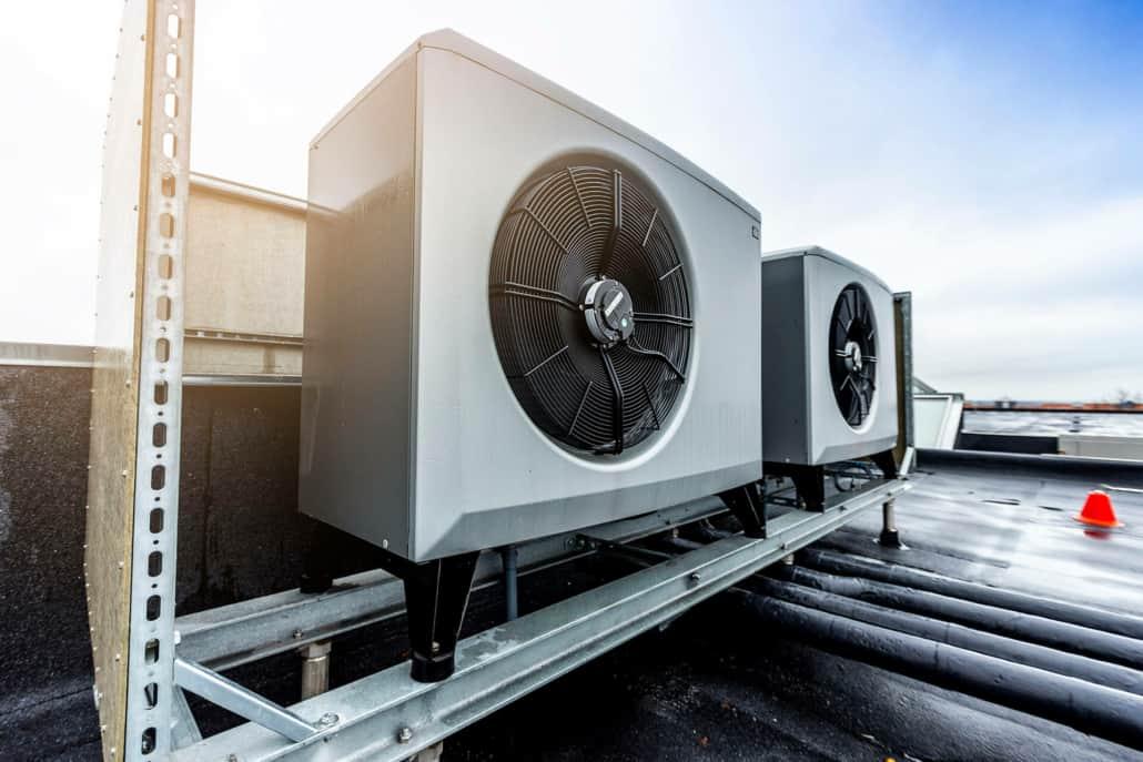 CTC luft til vand varmepumpe