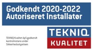 TEKNIQ autoriseret installatør banner